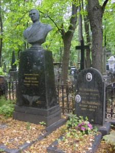 Памятник А.И.Кабанову