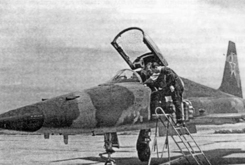 ISPITIVANJE PROTOTIPA AVIONA RF–5E U SAD 1980. GODINE F5_1
