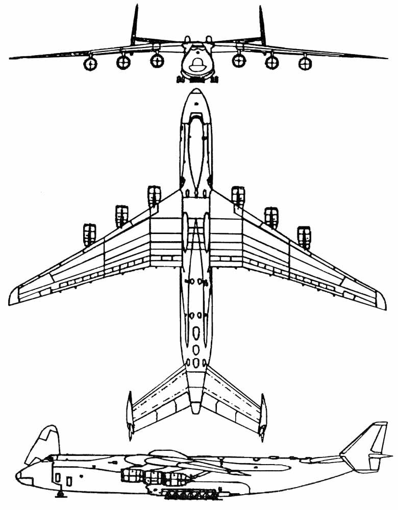 Схема Ан-225