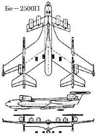 Схема Бе-2500П с НК-116
