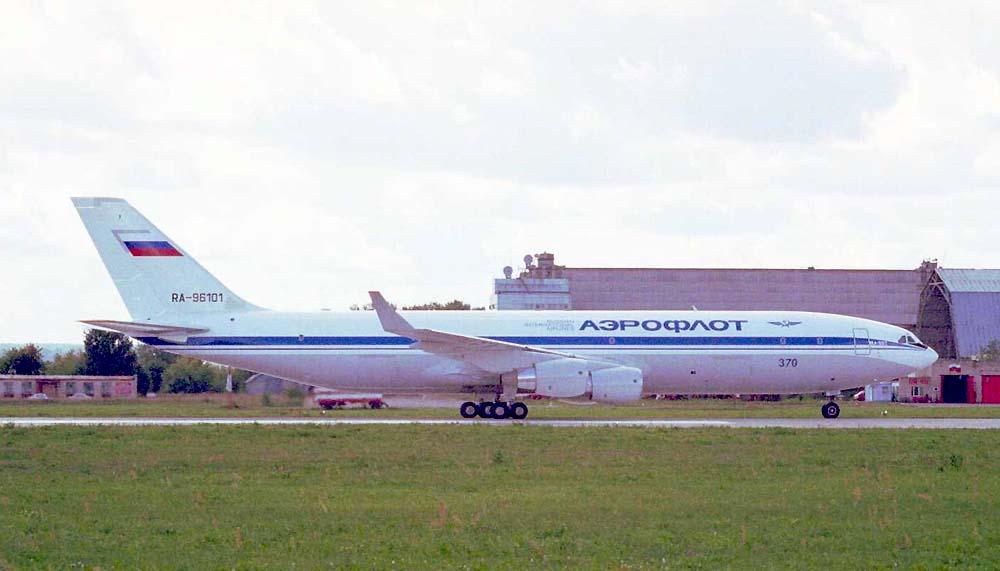 Ил-96Т на МАКС 99
