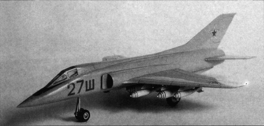 на МиГ-21 новое крыло