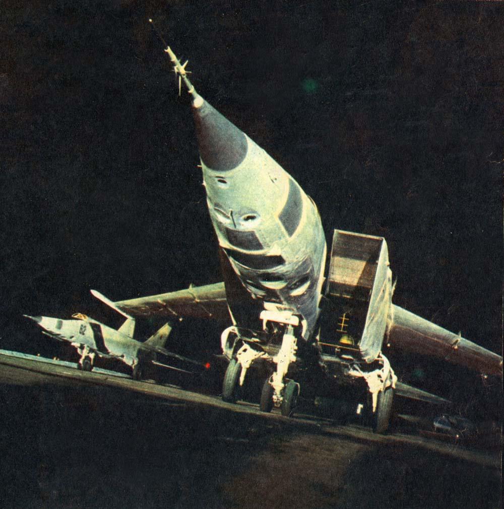 jedinstvena kombinacija izvidnik-bombarder MiG-25RBK