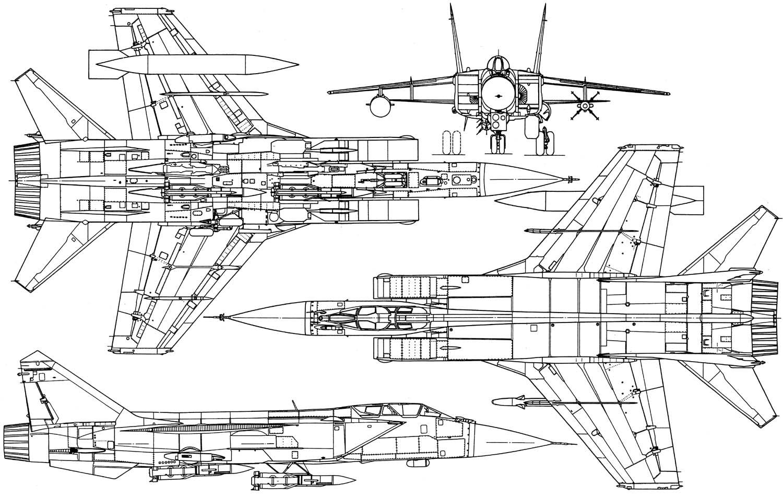 ОКБ им. Микояна МиГ-31 Обозначение НАТО: FOXHOUND Истребитель-перехватчик МиГ-31 является дальнейшей модернизацией...