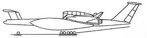 Самолет-носитель в составе авиационно-космического комплекса МАКС