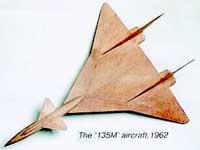 Модель Ту-135М (1962 г)