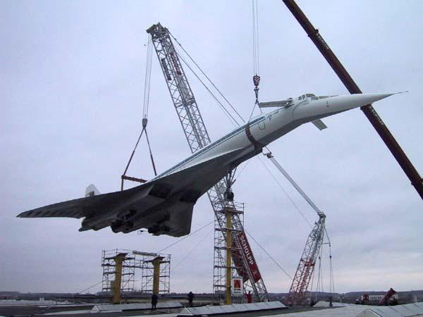 Хотя активные работы по Ту-144