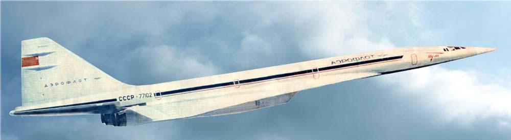«Парижский» Ту-144