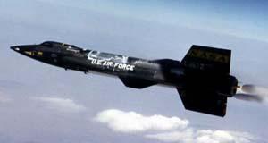 X-15 в полете