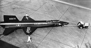 Выкатка X-15 (1958 г.)