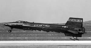 Посадка X-15