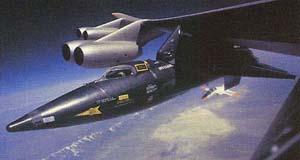 X-15 под крылом B-52